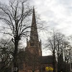 St. Alphege Church, across from the hotel
