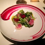 Beet salad at Restaurant 17
