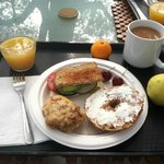 Breakfast at Ojai Retreat