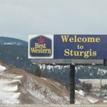 Can't miss the Welcome Sign on I-90