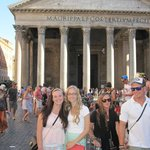 The B&B was just a few short blocks from the Pantheon