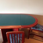 Still not sure if it´s a poker table or the kitchen table...