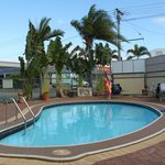 Pool at Main St Motel, Hervey Bay