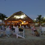 Toes-in-the-sand tiki bar - fun!!!