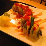 Caterpillar Roll - fun to look at, really tasty to eat, great flavours