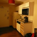 Entry and kitchenette.
