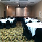 Perfect meeting room setup at Holiday Inn Sharonville