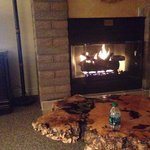 Gas fireplace, Sandstone Creek, Unit 2304
