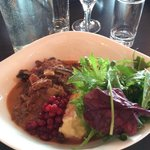 Best dish ever! We had to have a quick dinner and we were in luck for a lovely Reindeer stew wit