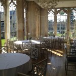 The Orangery - site of our family dinner