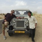 The Jeep (Village 45 kms from Jaisalmer)