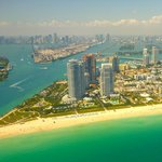 View from seaplane - South Beach