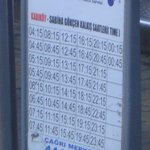 Schedule Chart of Havas Exp Bus
