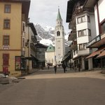 Corso Italia- few yards from hotel in Cortina