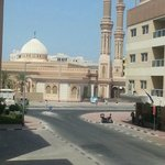 beautiful mosque view from my room