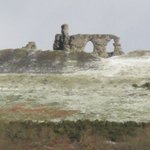Dinas Bran (close up)