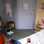my room, facing entrance to room