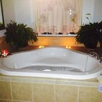 Heart tub in Shepherds Fiddle Suite