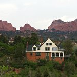 Garden of the Gods as a back drop to Red Crags