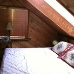 upstairs loft king bed