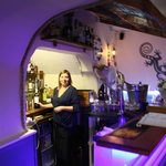 Cosy bar and great wine list
