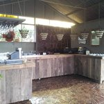 Bar in party area