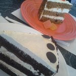 Carrot Cake and Chocolate Cake