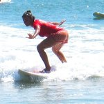 Surfing with casa oro