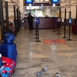 "Pigeons ""Living It Up"" on ""Cheez-It's"" Provided By Travelers Inside Sacramento Amtrak Station (S"