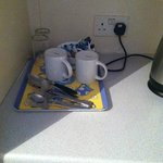 "Oxford Hotel's version of ""coffee/tea service"""