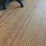 Super stained carpet