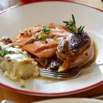 Filet with Salmon