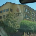 1. this casino is in town and you'll pass it on the way to the B & B