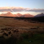 One of the views from the Red Cuillin room