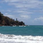 Light house in Maunabo. Where the Caribbean meets the Atlantic.
