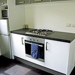 Practical full-size kitchen