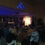 Saturday night show at Frank's Place Lounge inside the resort