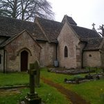 A little church near Calne called St Peter's Blacklands