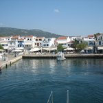 Skiathos Town from the boat trip