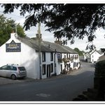 The Horse & Farrier with view down village