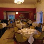 The lovely Dining-Room at Dunbrody House