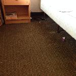 this is a photo of room floor as of now.