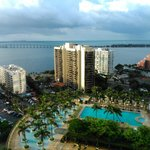Excelente vista do 23 andar bay view