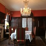 Guests are served a very special gourmet breakfast each morning in the formal, historic dining r