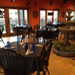 Blue Iguana Restaurant reached from inside hotel