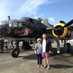 """B-25 Bomber, """"Executive Sweet"""", at the WWII Aviation Museum"""
