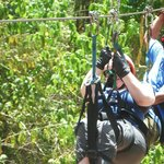 Going the extra mile so I could Zip Line