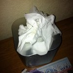 tissues-  used?? dirty??