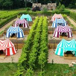 Knight's Glamping at Leeds Castle