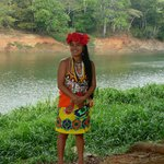 Visit to the Embera village